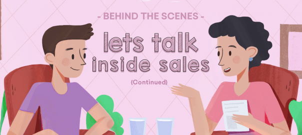 Behind the Scenes: Let's talk Inside Sales (Part 2)