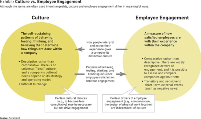 culture and employee engagement