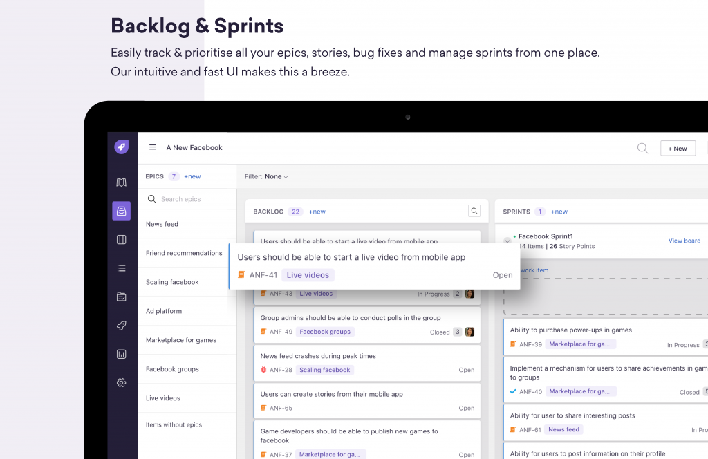 Freshrelease-backlog-and-sprints