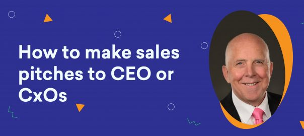 Uncomplicate – How to make sales pitches to CXOs