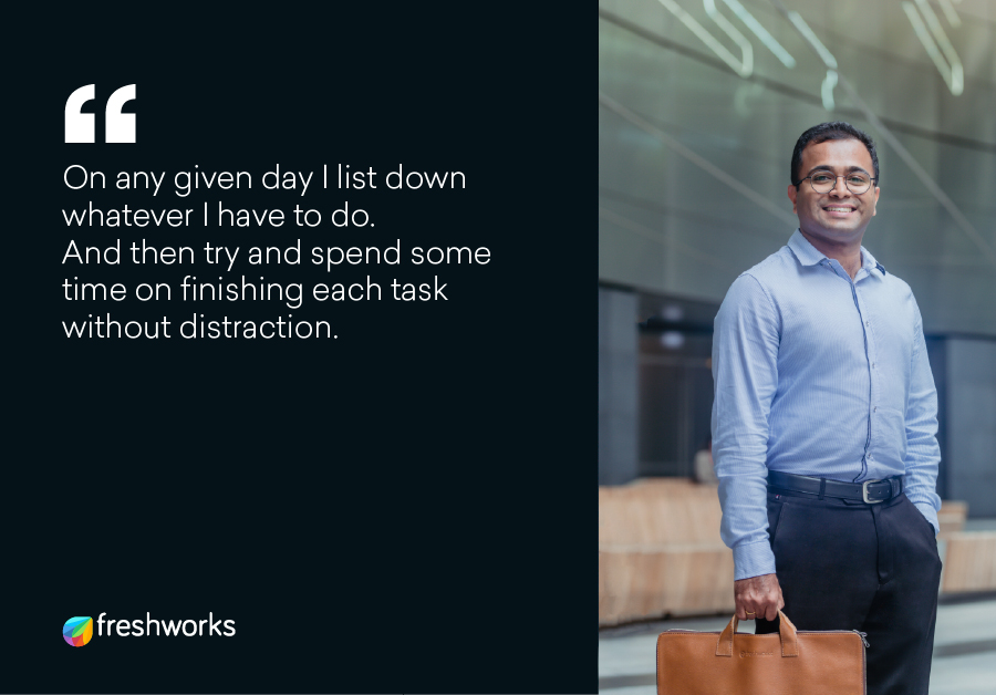 Sreelesh Pillai - Humans of Freshworks