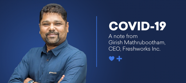A note from our CEO on COVID-19