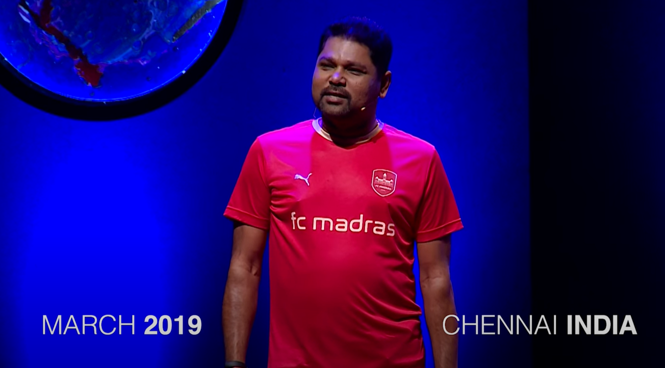 Screenshot of G speaking about FC Madras