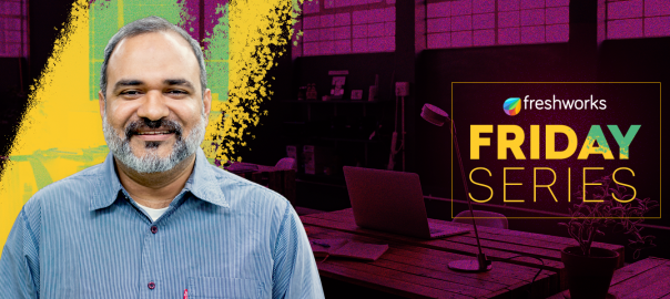 For Shuveb Hussain, a happy work environment foments creativity and leadership at Freshworks