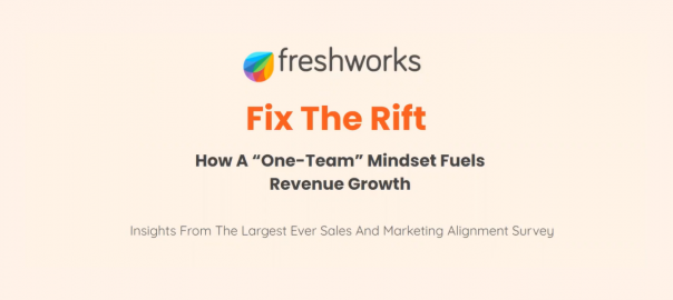 Fix the Rift: How to Achieve Better Alignment Between Sales and Marketing Teams