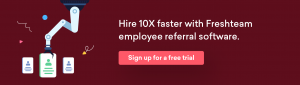 Get Employee Referral right with Freshteam Software