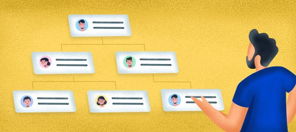 Why org charts should be used in new hire onboarding?
