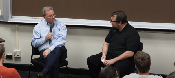 Eric Schmidt talks about what worked and what didn't while scaling up Google – Part I