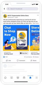 Unilever philipines campaign on Facebook messenger