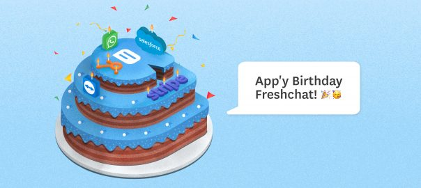 Introducing Freshchat marketplace – the icing on our birthday cake!