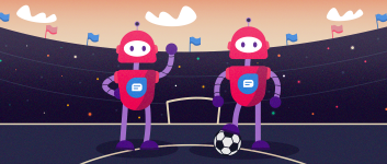 It takes bots to play football – The chatbot way of scoring a customer