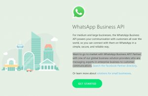 Directly apply to WhatsApp Business API