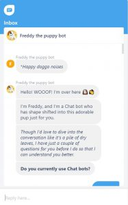 Chatbot design personality