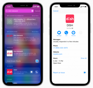 Digit using Apple Business Chat