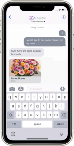 Apple business chat feature - rich links