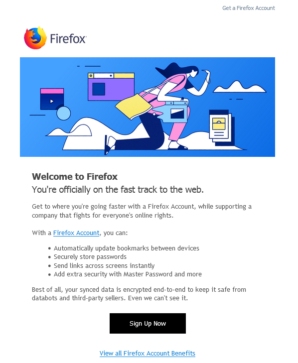 Welcome Email | Firefox