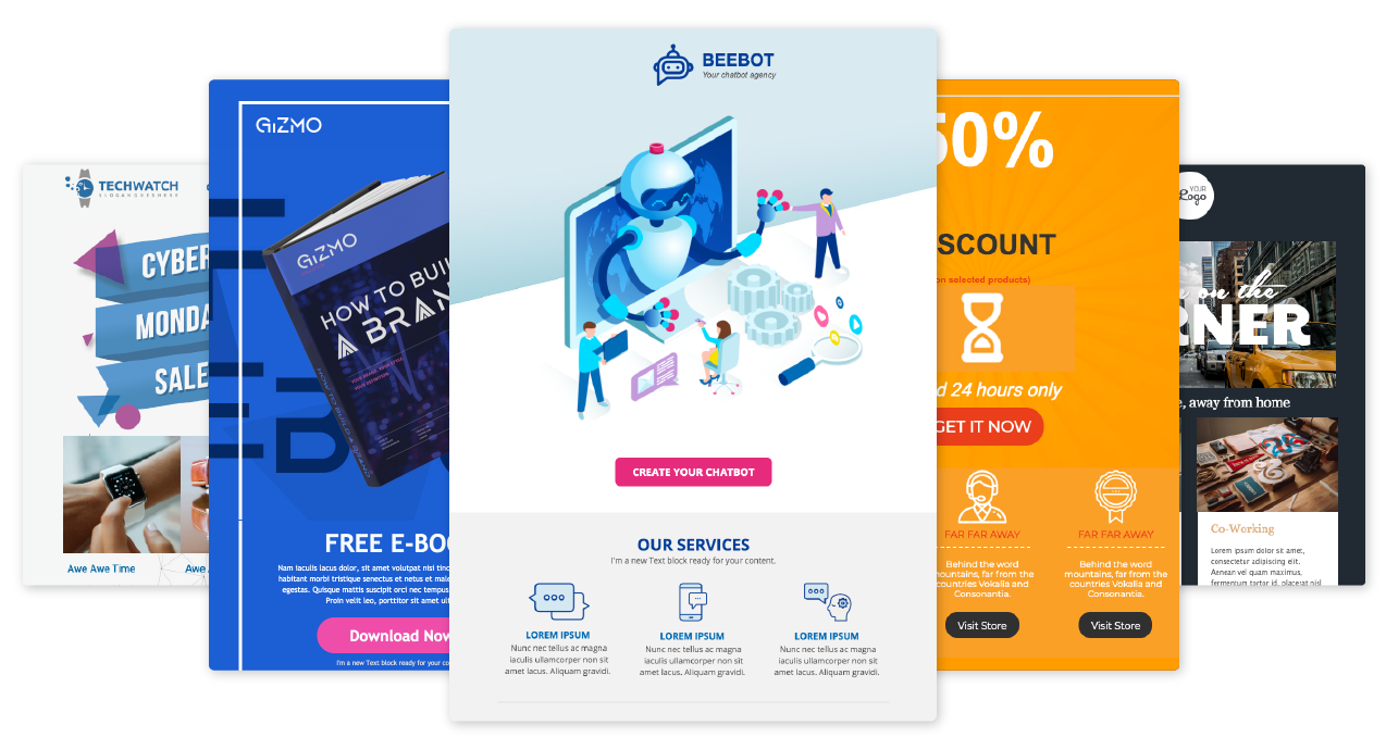 Freshmarketer email templates